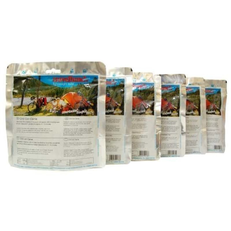 Travellunch Meals with Meat 6x125 gram