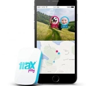 Trax Play GPS Tracker Blue