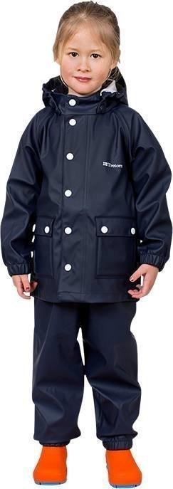Tretorn Kids Wings Raincoat Navy 128