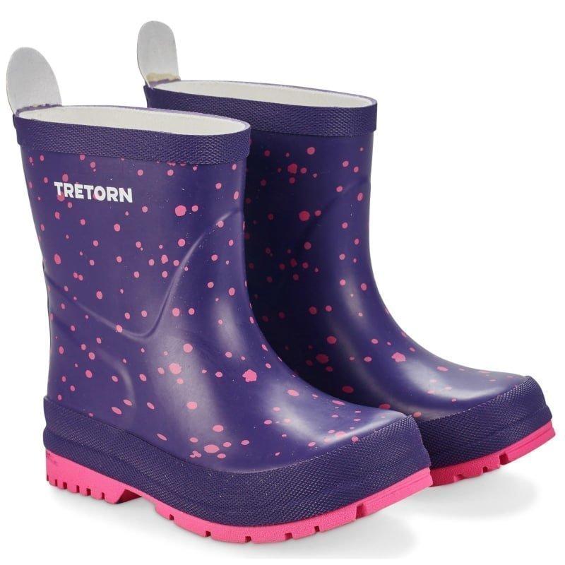 Tretorn Sticky Dots 22 Purple