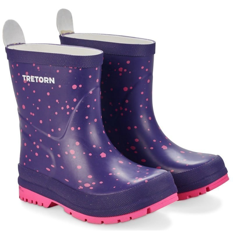Tretorn Sticky Dots 24 Purple