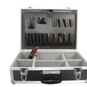Työkalulaukku alumiinia musta