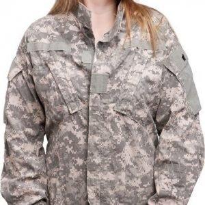 US ACU takki UCP ylijäämä tyttökuvalla
