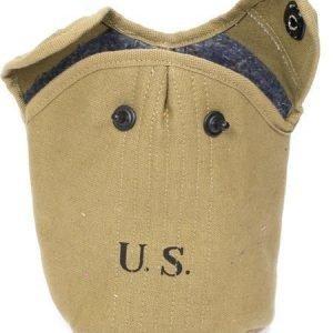 US M-1910 kenttäpullotasku repro