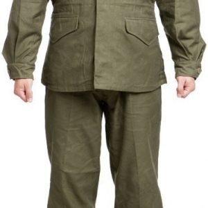 US kenttäpuku M-1943 oliivinvihreä repro