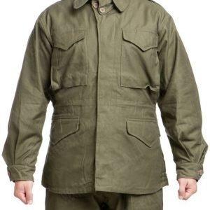 US kenttätakki M-1943 oliivinvihreä repro