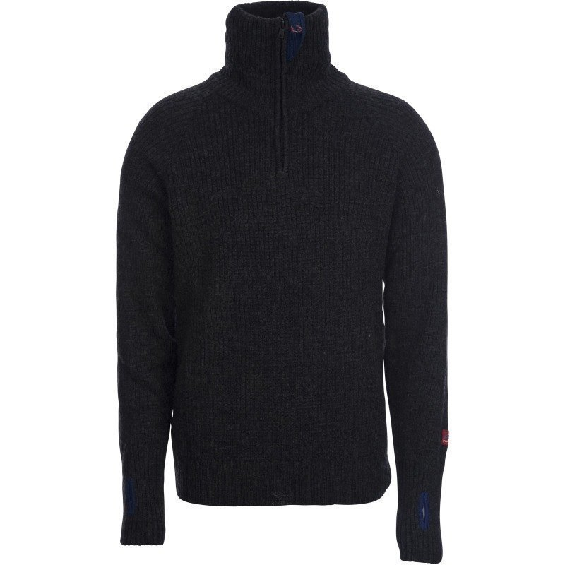 Ulvang Rav Sweater w/zip S Koks Melange