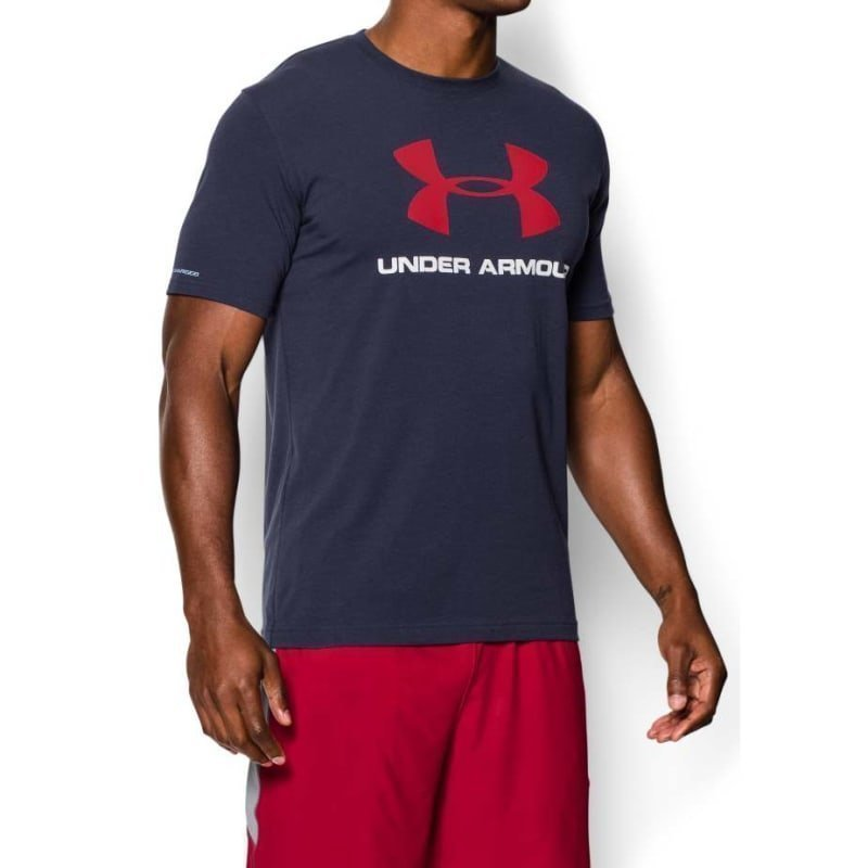 Under Armour Cc Sportstyle Logo SM Midnight Navy