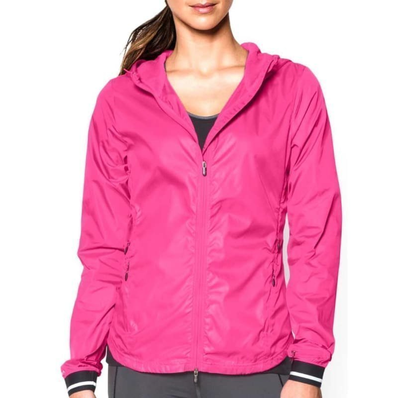 Under Armour Layered Up! Storm Jacket XS Rebel Pink