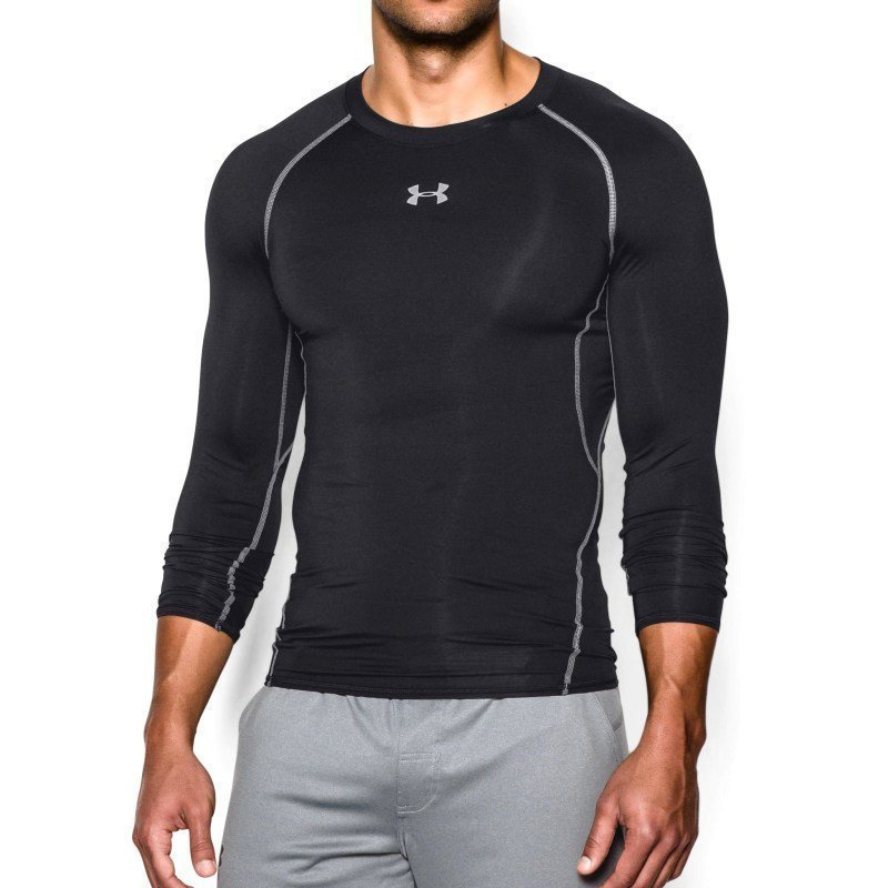 Under Armour Men's UA Heatgear LS Comp S Black