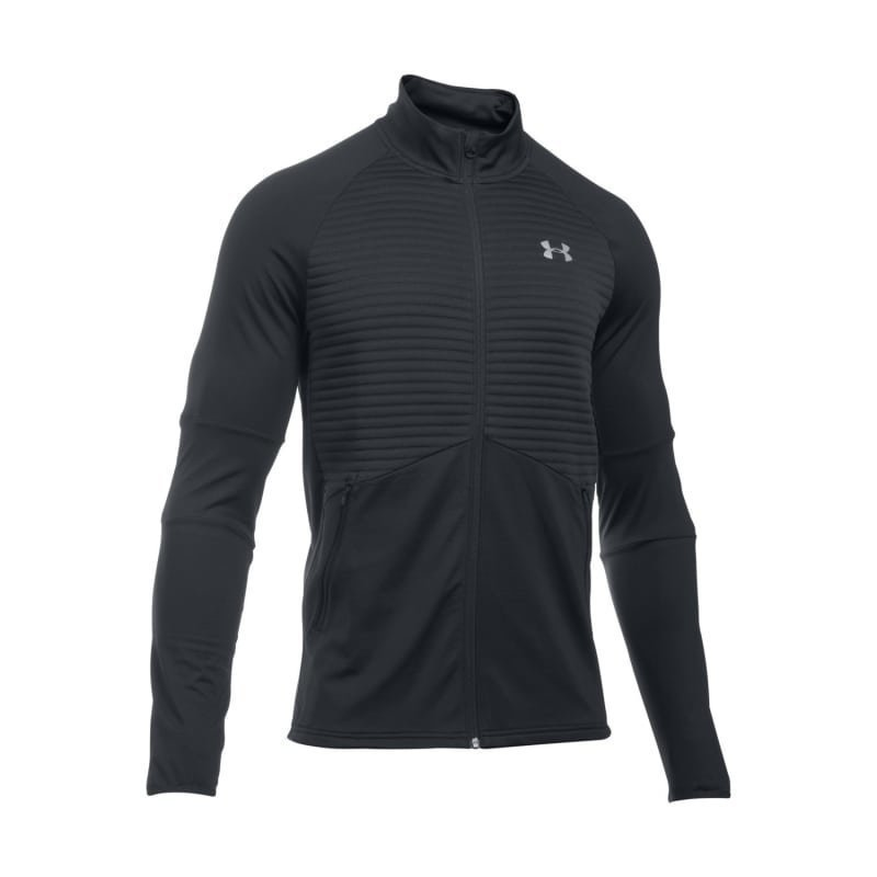 Under Armour Men's UA NoBreaks CG Infrared Run Jacket LG Black