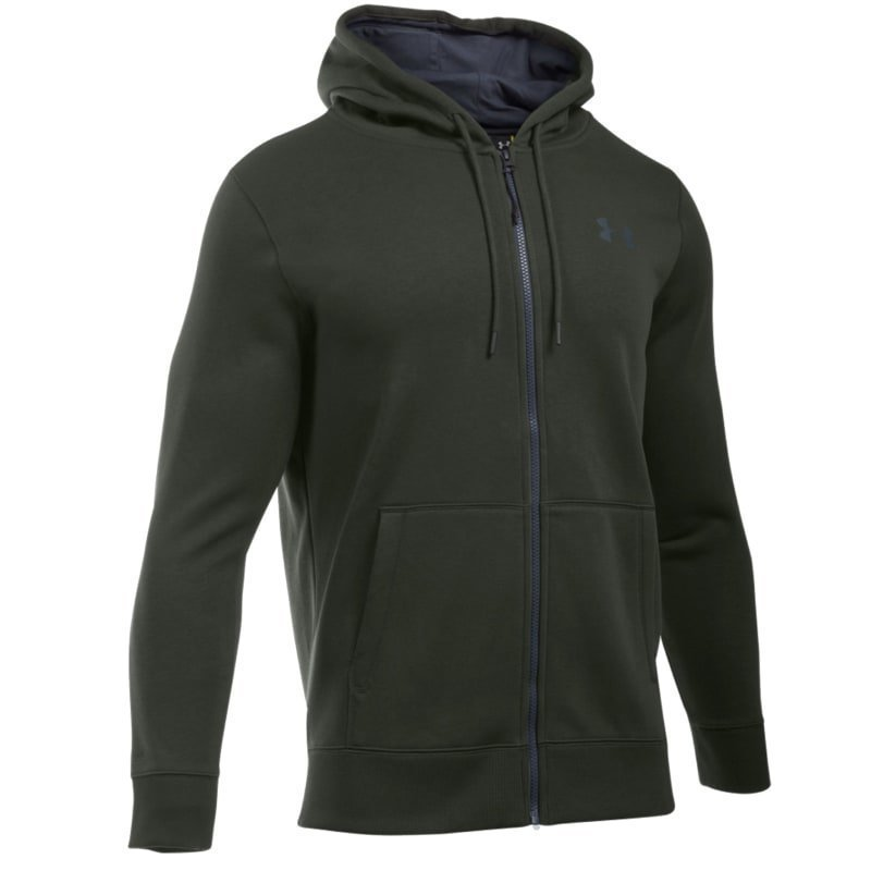 Under Armour Men's UA Storm Rival Fleece Zip Hoodie LG Artillery Green