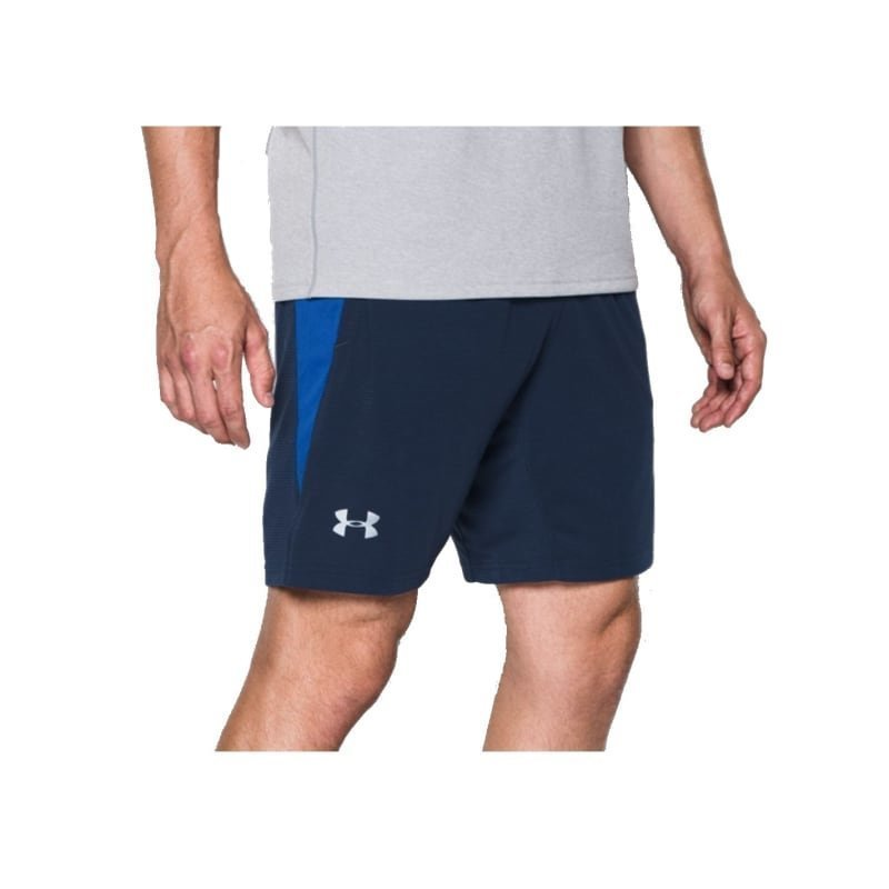 Under Armour Men's UA Streaker Run Shorts LG Midnight Navy