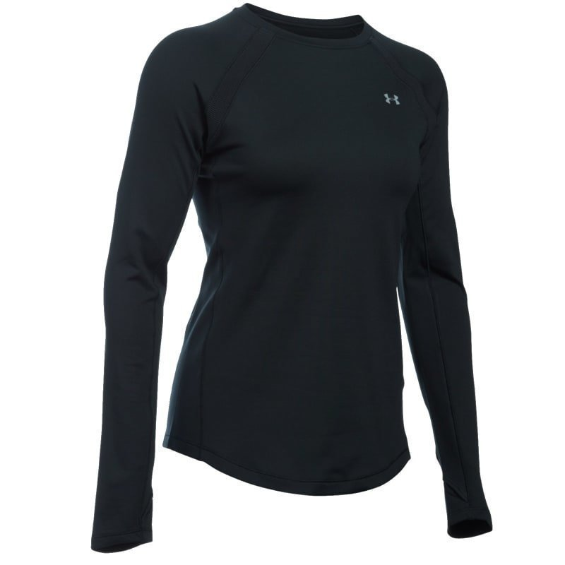 Under Armour Women's ColdGear Armour LS SM Black