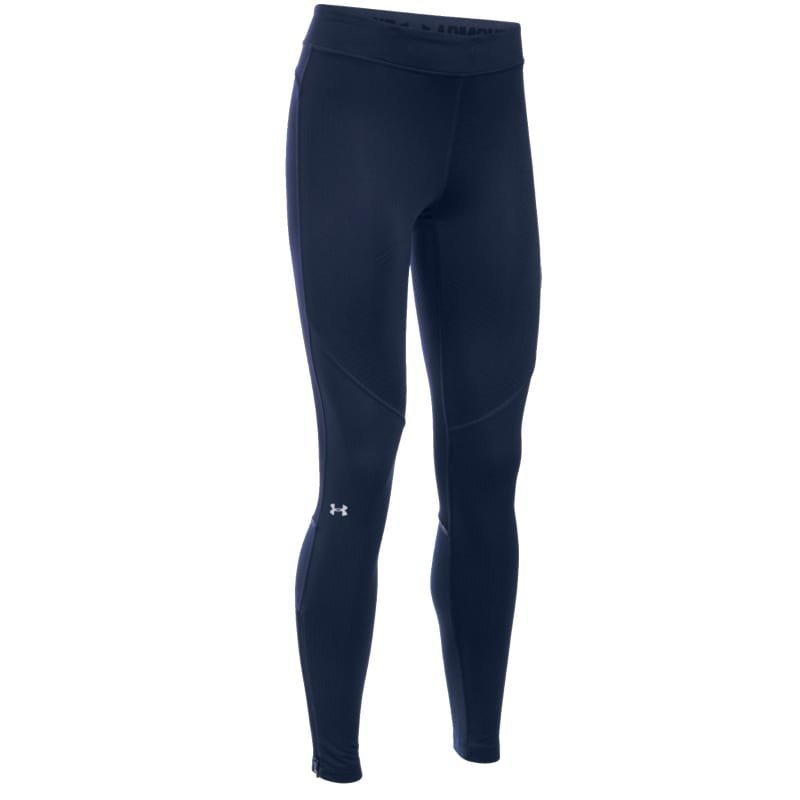 Under Armour Women's UA ColdGear Elements Legging SM Midnight Navy