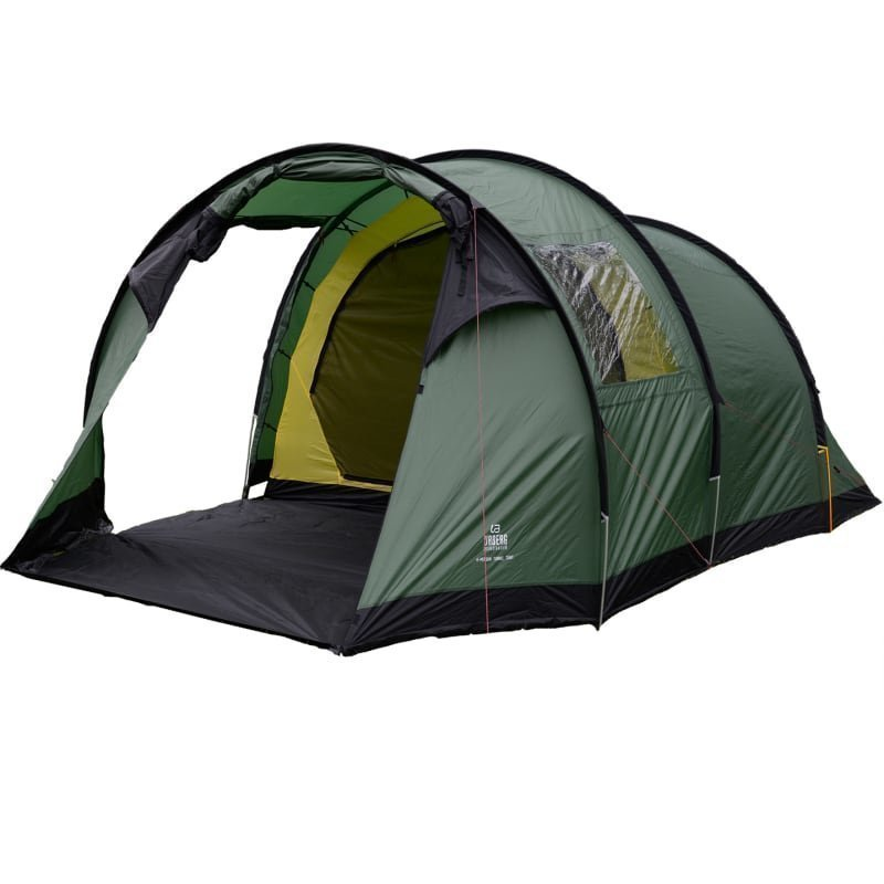Urberg Öland 4-Person Tunnel Tent 1SIZE Green