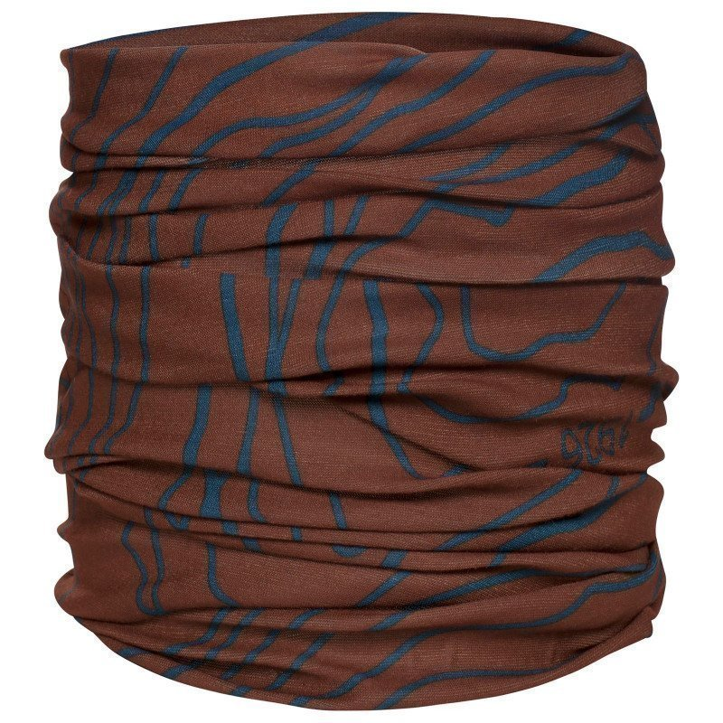 Urberg Bandana The Map 1SIZE Rusty Red/Blue