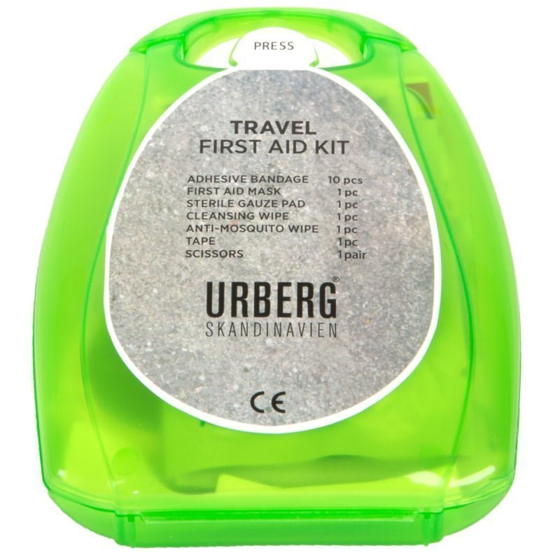 Urberg First Aid Kit Travel 1SIZE Red