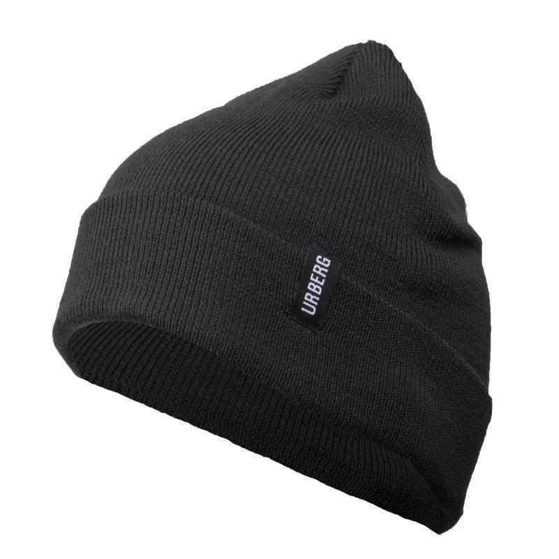 Urberg Folded Beanie 1SIZE Black