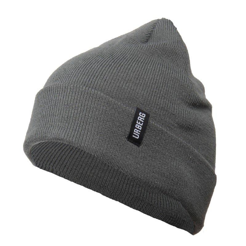 Urberg Folded Beanie 1SIZE Dark Grey