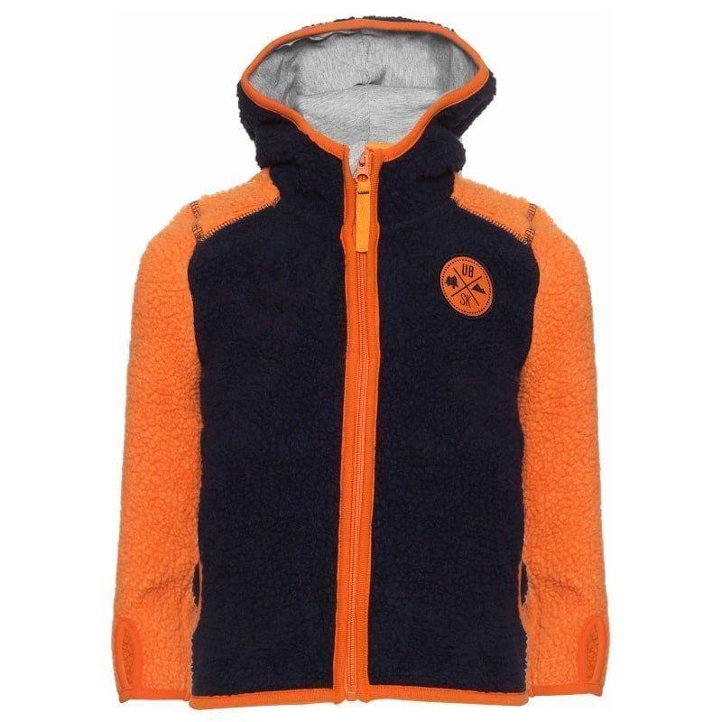 Urberg Kramfors Kid's Pile Fleece 110/116 Blue/Orange
