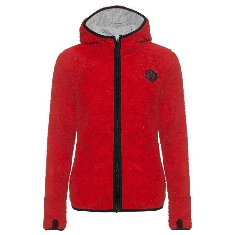 Urberg Kramfors Women's Pile Fleece L Red