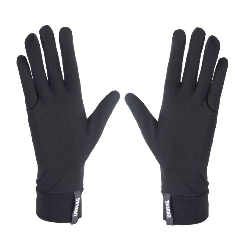 Urberg Merino Glove Liner 9 Black