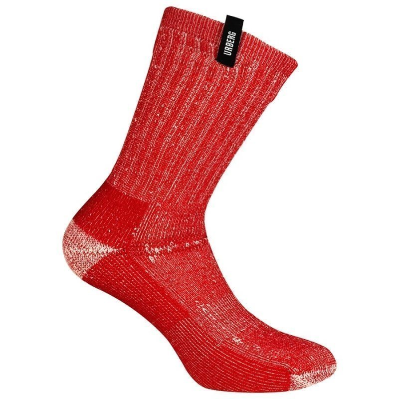 Urberg Mountain Trail Sock 41-45 Red