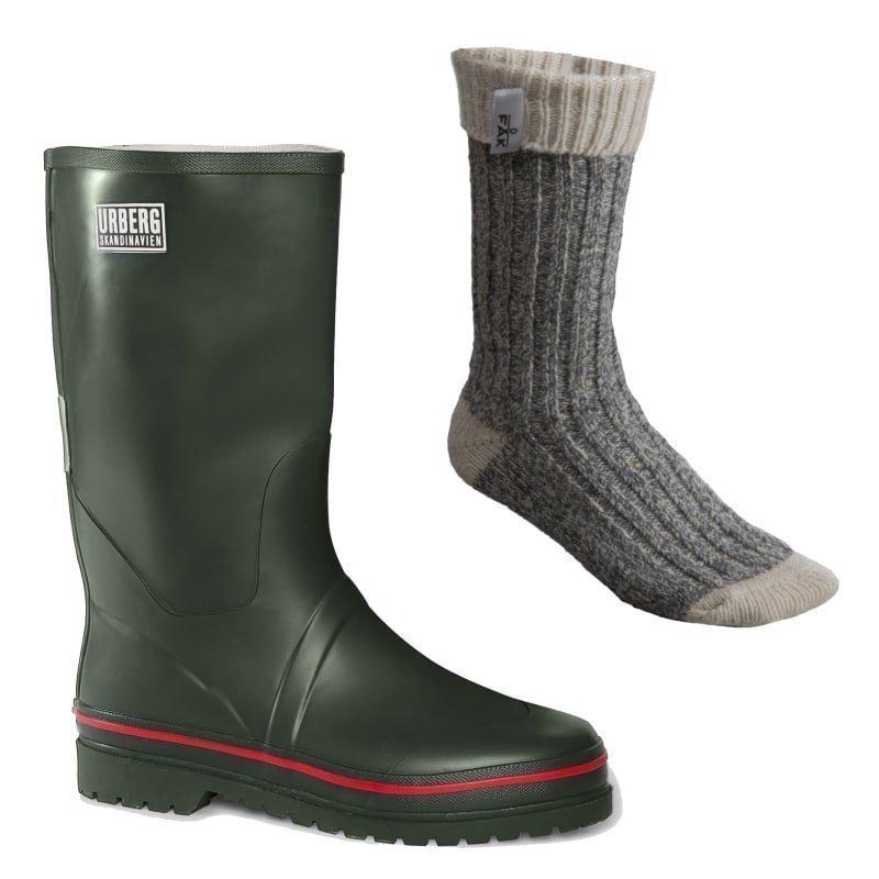 Urberg Nordmarka Men's Boot 45 Green