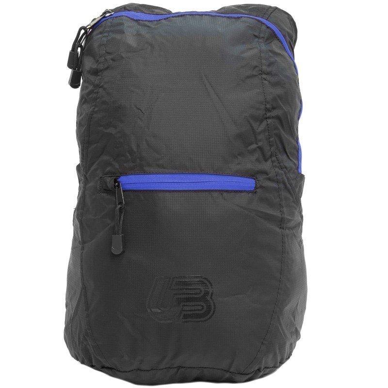Urberg Packable Backpack 1SIZE Black/Blue