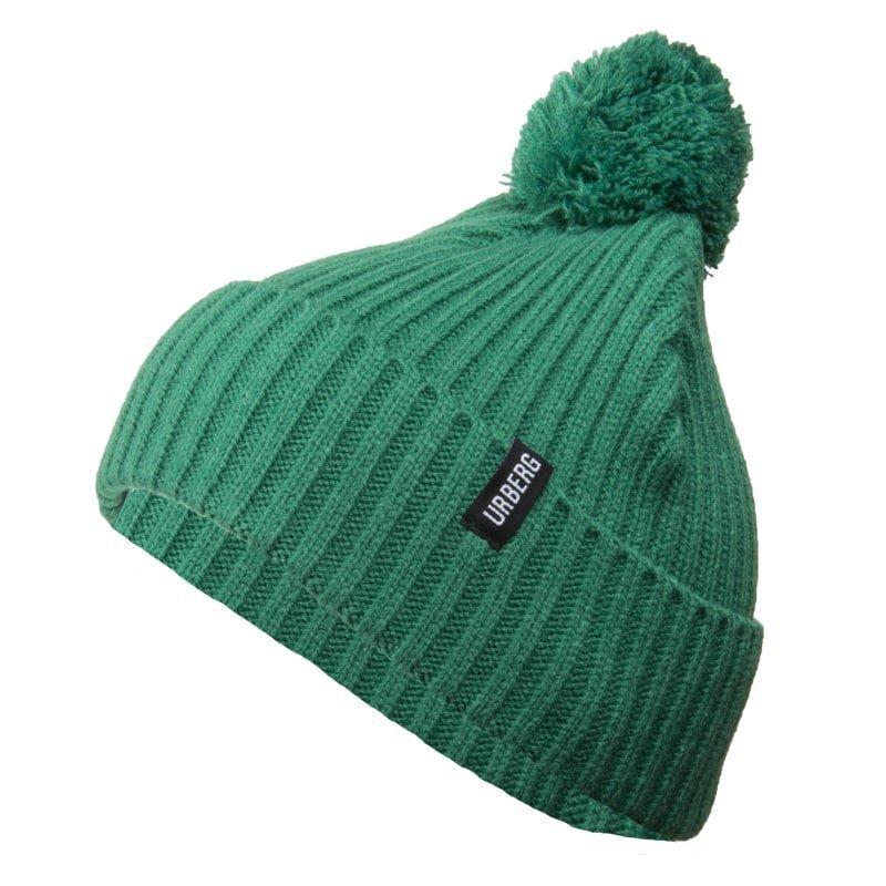 Urberg Pompom Beanie 1SIZE Green