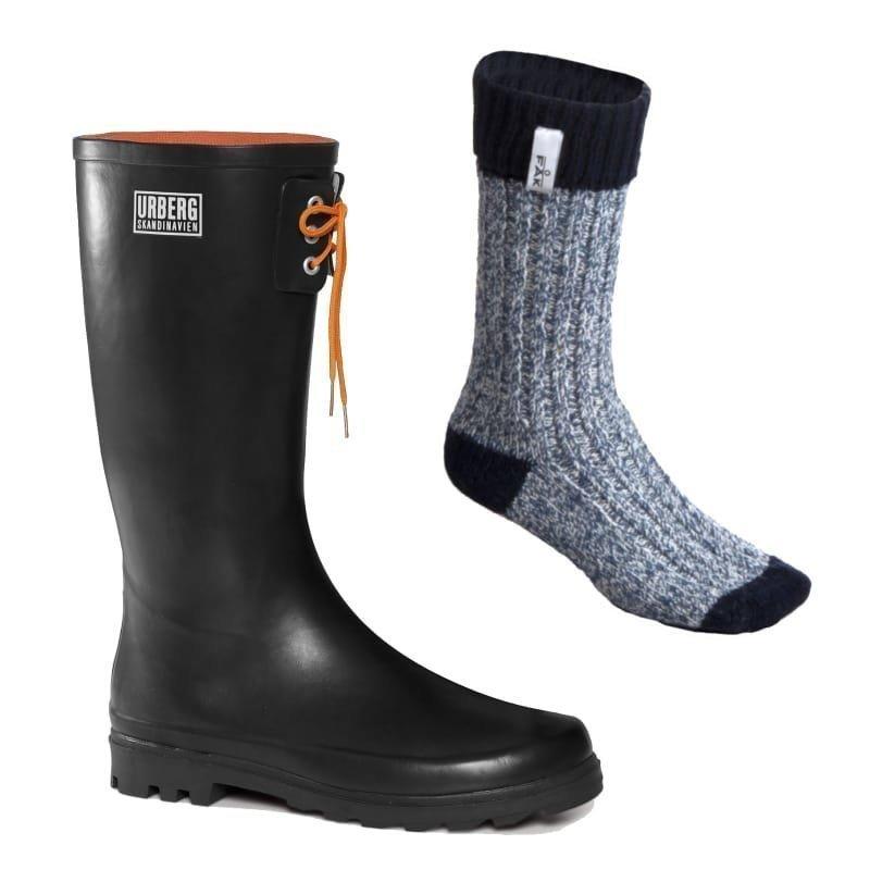 Urberg Stavanger Men's Boot 45 Black