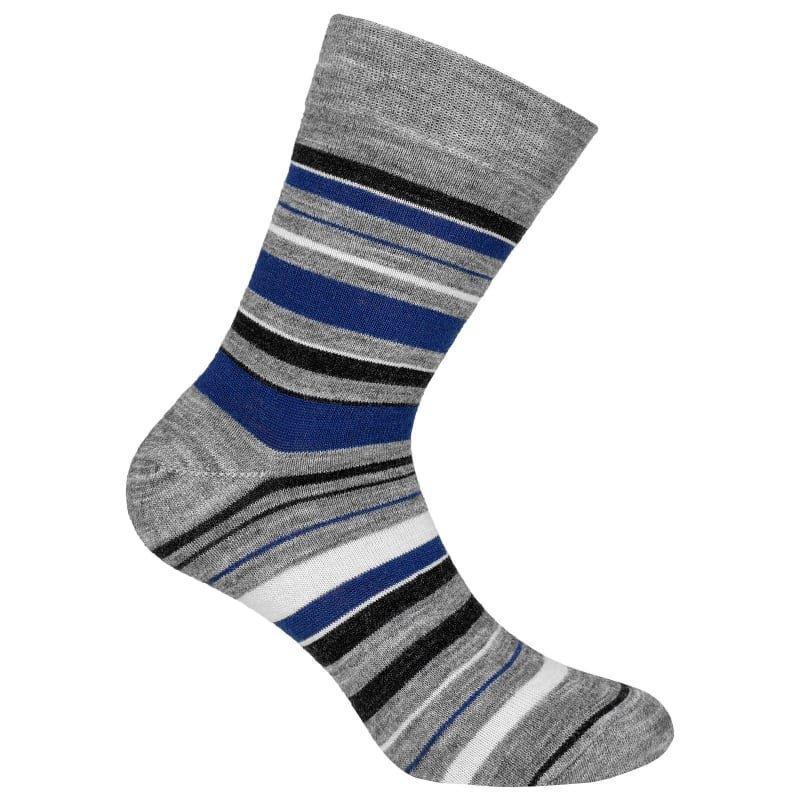 Urberg Striped wool 44-47 Navy Stripe