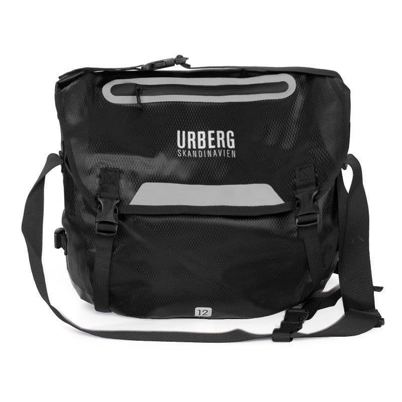 Urberg Utrail Messenger 1SIZE Black Ripstop