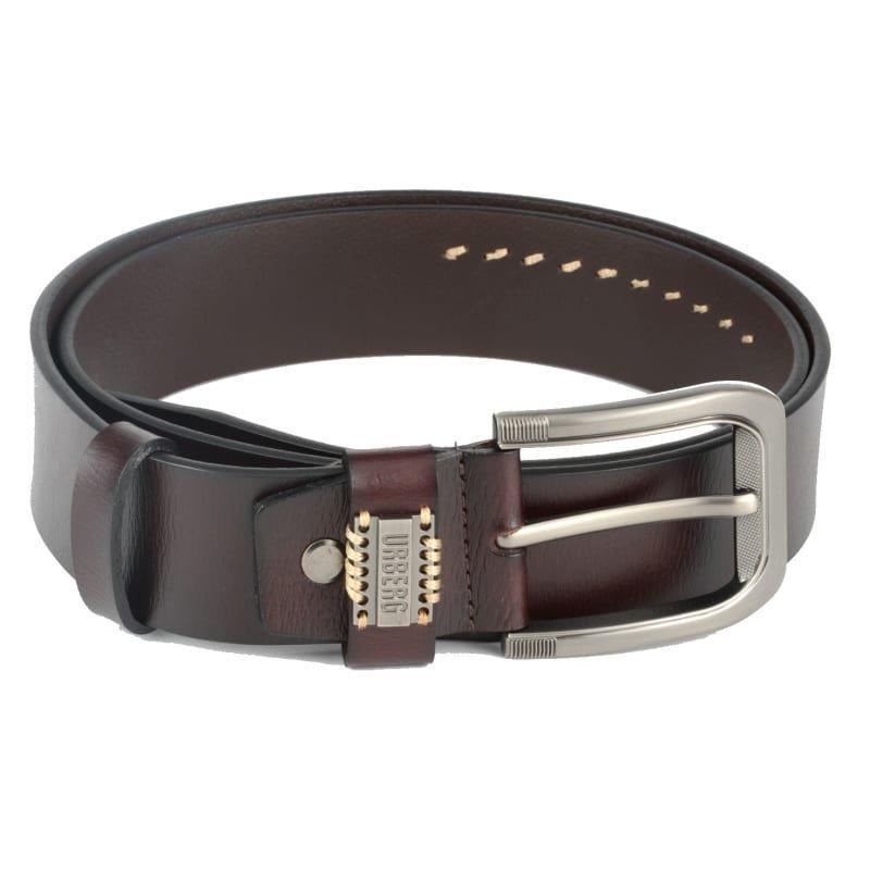 Urberg VegTan Leather Belt 105 CM Dark Brown