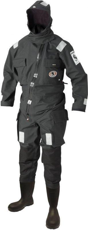 Ursuit Rapid Donning Suit Black musta S