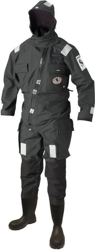 Ursuit Rapid Donning Suit Black musta XXL