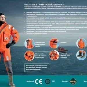 Ursuit Sea Horse SAR 5020 II Pelastuspuku oranssi XXL