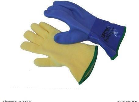 Ursuit kuivakäsine PVC talvi XL