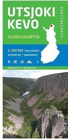 Utsjoki-Kevo 1:100 000 2015 taitettu