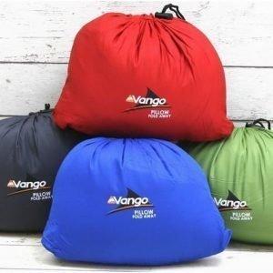 Vango fold away pillow kokoontaittuva matkatyyny