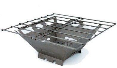 Vargo Fire Box Grilli titaania