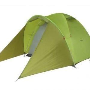 Vaude CAMPO FAMILY XT 5P teltta viidelle vihreä