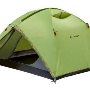 Vaude Campo 3P kolmen hengen teltta vihreä