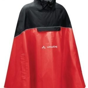 Vaude Covero Poncho II punainen