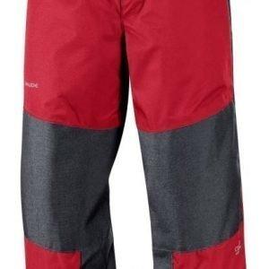 Vaude Escape Pants vedenpitävät housut lapsille red