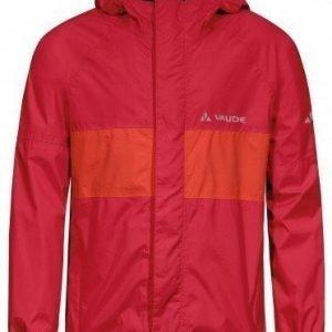Vaude KIDS Grody Jacket II vedenpitävä takki punainen