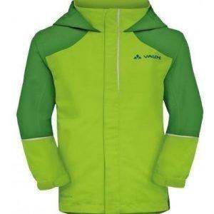 Vaude KIDS Racoon Jacket IV vedenpitävä takki vihreä