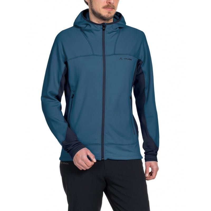 Vaude Men's Basodino Hooded Jacket II M Washed Blue
