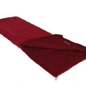 Vaude Navajo 100 SYN Dark Indian punainen 3-vuodenajan makuupussi